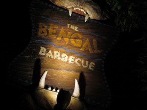 Disneyland - The Bengal Barbecue