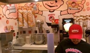 Sparky's Donut - Inside