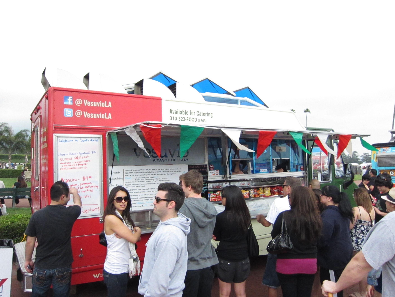Santa Anita Food Truck Fest Visuvio