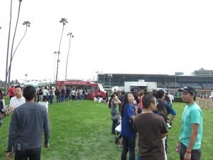 Santa Anita Food Truck Fest - Lines
