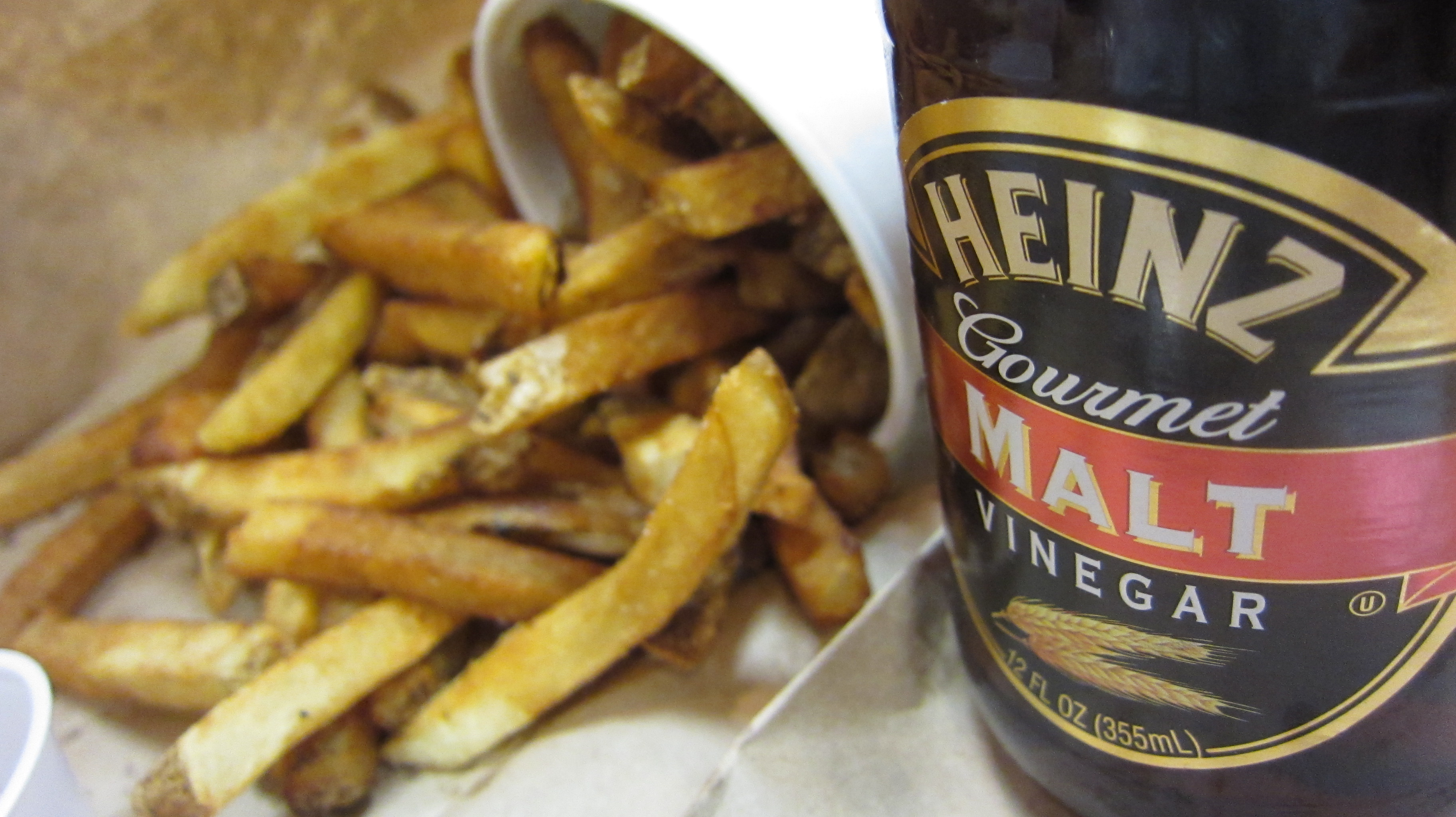 The daily apple apple 641 malt and its various uses for Fish and chips vinegar
