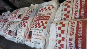 5 Guys Burgers and Fries - Sack of Potatoes