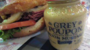 Heroes Bar and Grill - Grey Poupon