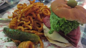 Heroes Bar and Grill - Pastrami Burger