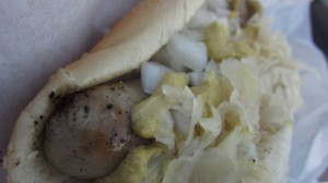 Fullerton Farmers Market - Cinco de Mayo - Bratwurst
