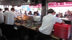 Pink's Hotdog - Kitchen