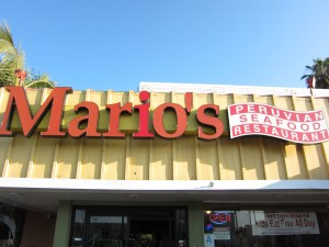 Mario's Peruvian Seafood