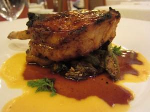 Napa Rose - Grilled Pork Chop Rack