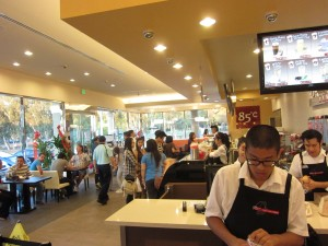 85C Bakery Cafe - Hacienda Heights - Inside