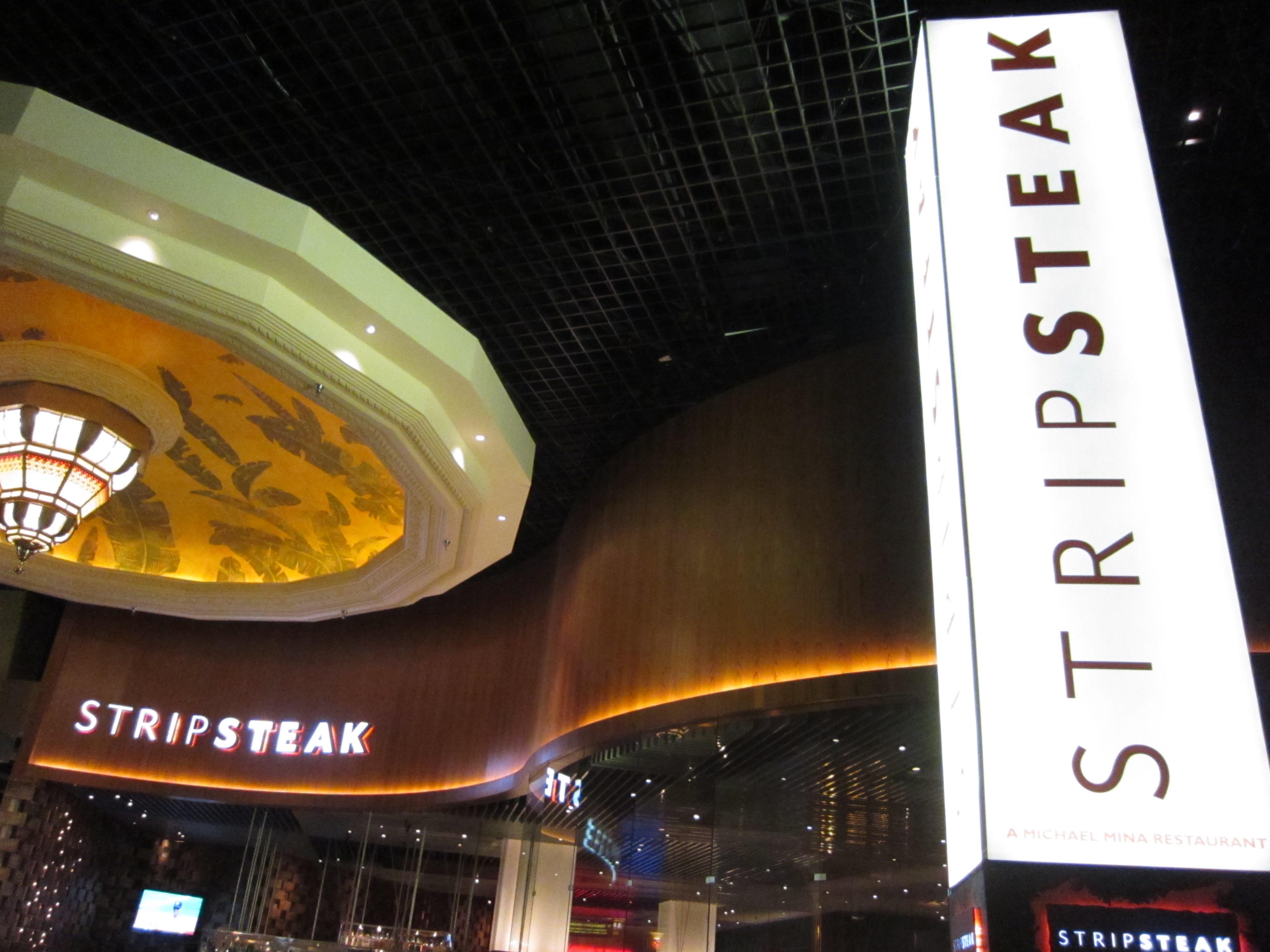 Strip steak at mandalay bay