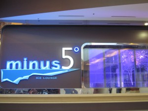 Minus 5 Ice Lounge - Mandalay Bay