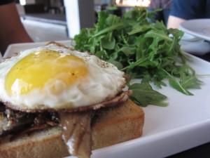 Bar + Kitchen - Mushroom Toast