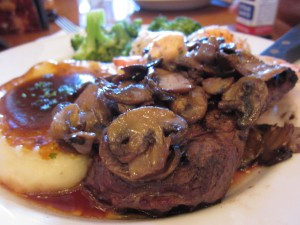 Hard Rock Cafe Hollywood - Mushroom Steak