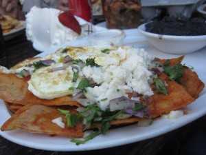 Alcove Cafe and Bakery - Chilaquiles