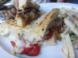 Alcove Cafe and Bakery - Philly Cheesesteak Sandwich