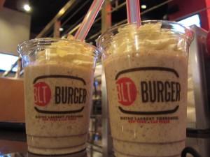 BLT Burger - Nut Job (Nutella Shake)