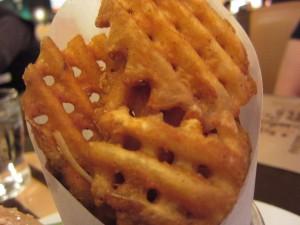 BLT Burger - Waffle Fries