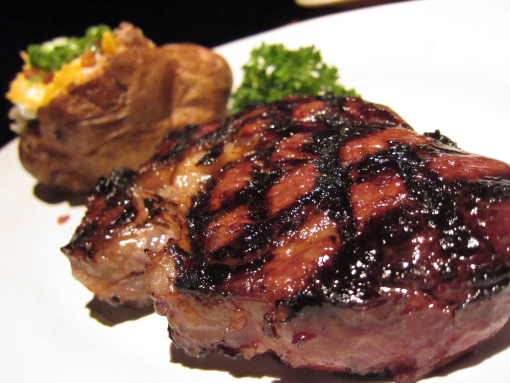 how to cook marinated rib eye steak in the oven