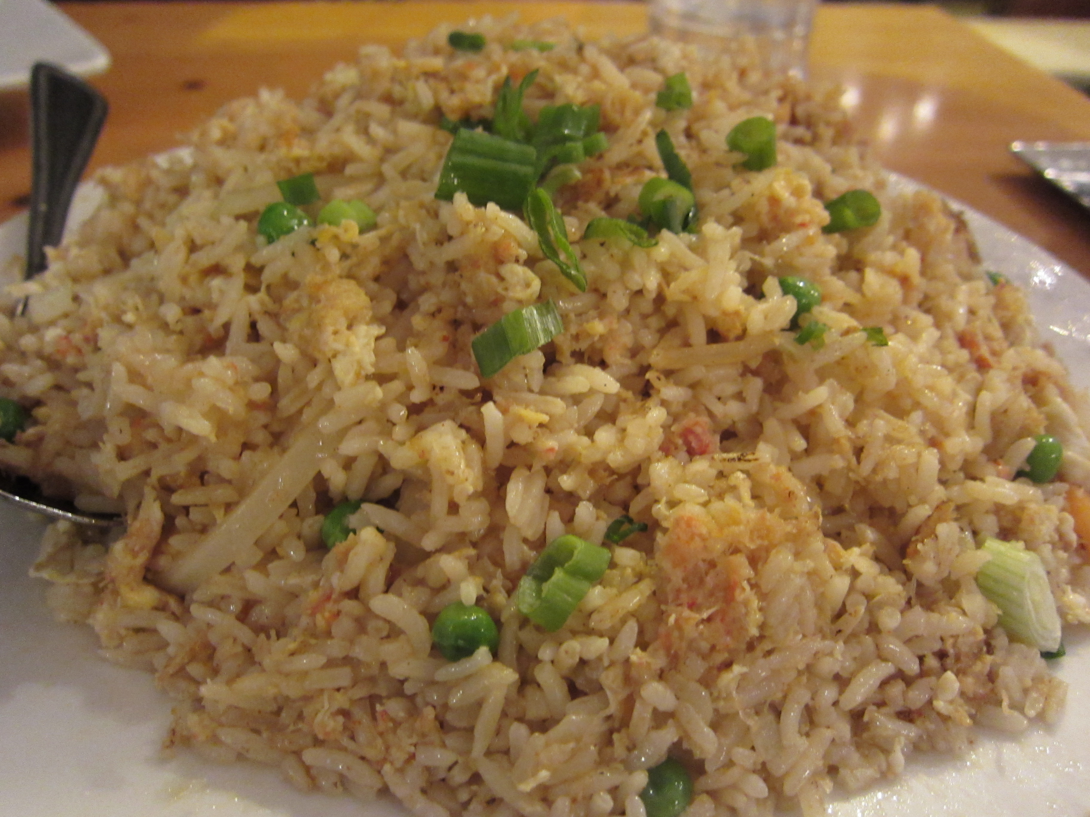Thai Patio – Crab Fried Rice