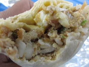 White Rabbit Truck - Sisig Burrito