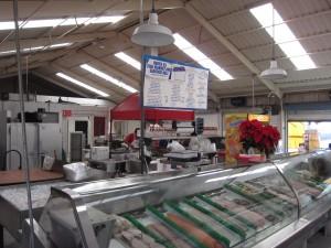 Berth 55 Fish Market - Inside