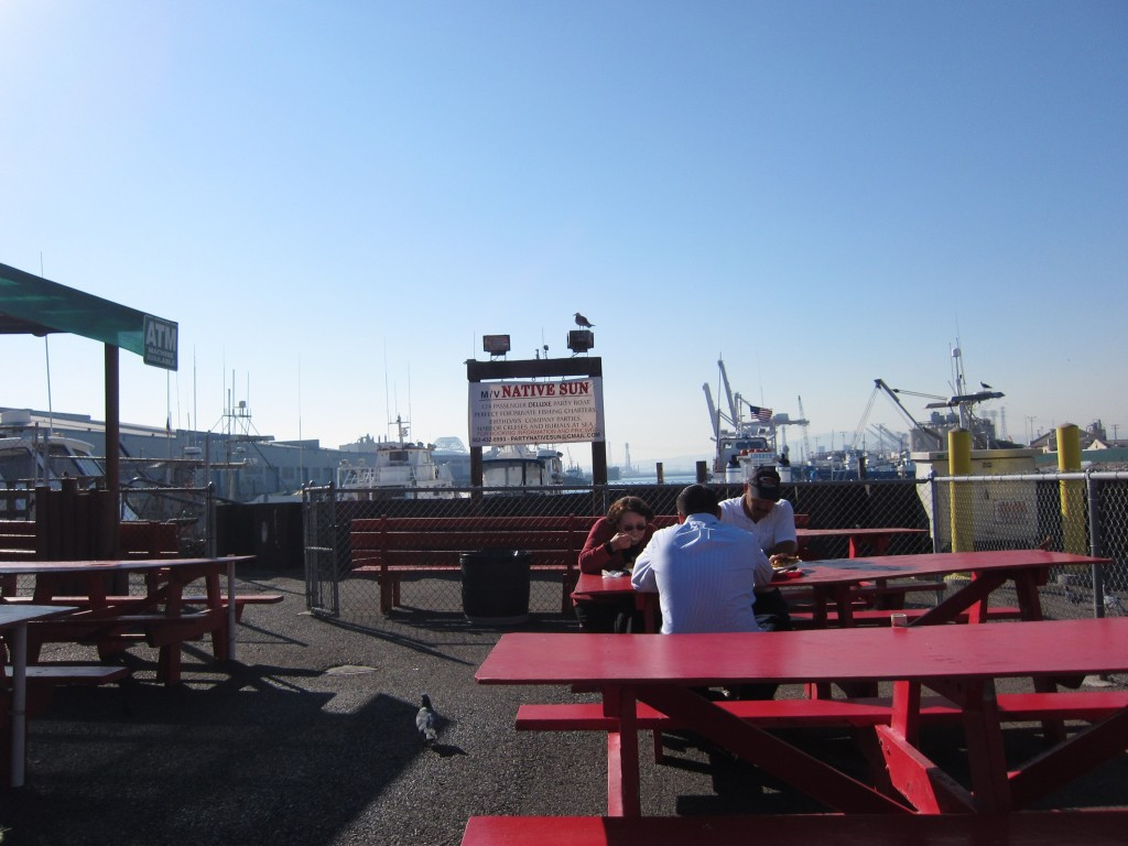 Berth 55 fish market my pit stop in long beach for Long beach fish market