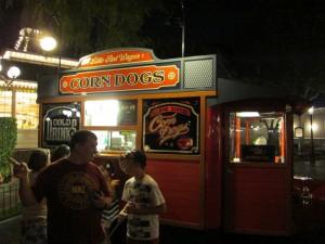 Disneyland Corndog Cart