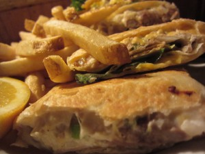 Foxy's Restaurant - Tuna Melt Quesadilla