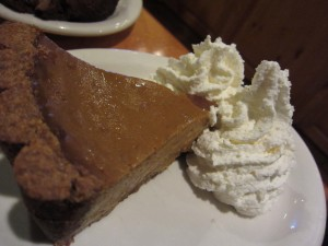 Urth Cafe - Pumpkin Pie