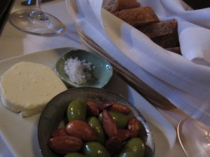 Lucques - Bread Almonds Olives