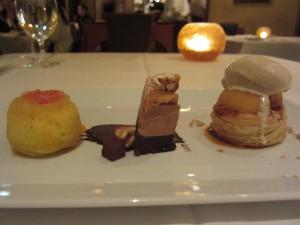 Spago - Dessert Trio