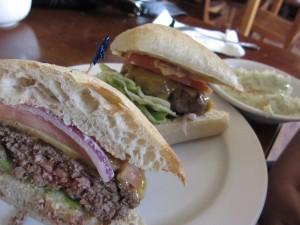 Monkey Business Cafe - Cowboy Burger