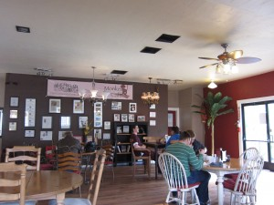 Monkey Business Cafe - Inside