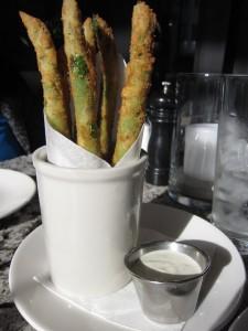 Nick's Laguna Beach - Fried Asparagus