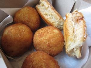 Porto's Bakery & Cafe - Potato Balls & Meat Pies