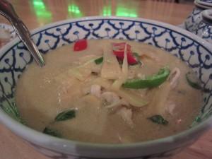 Palm's Thai Restaurant - Green Curry