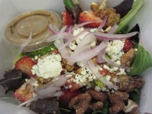 Alicia's - Walnut Strawberry Salad