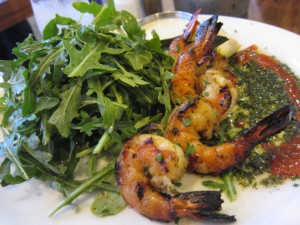Eat Chow - Grilled Prawns