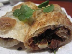 Mama Lu's - Beef Wrap