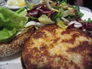 Santa Monica Seafood - Salmon Burger