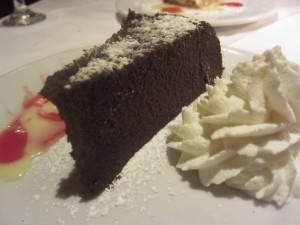 Cafe Bizou - Chocolate Cake