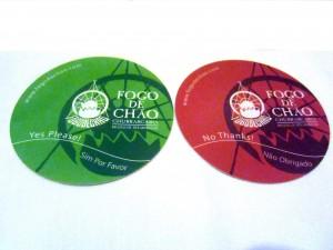 Fogo de Chao - Coaster