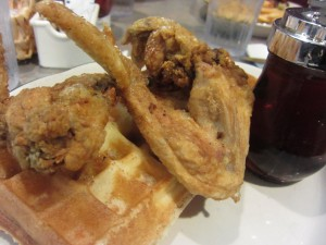 House of Pies - Chicken Wing and Waffles