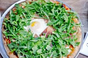 Osteria La Buca - Fried Egg Pizza
