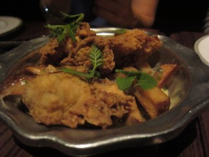 The Parish - Poutine Fried Oysters
