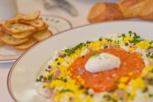 Bouchon - Tartare de Saumon