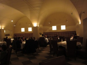 Delmonico Steakhouse - Inside