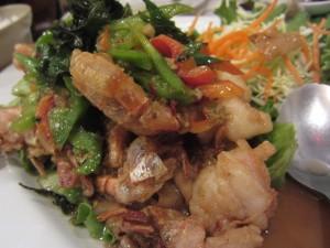 Lotus of Siam - Drunken Noodle Prawn
