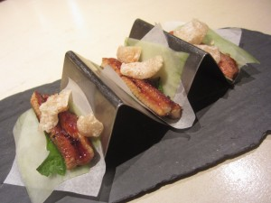 The Bazaar by Jose Andres - Japanese Tacos