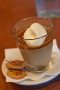 Pizzeria Mozza - Butterscotch Budino